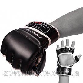 Рукавички для Mma PowerPlay 3056 Чорні L SKL24-144398