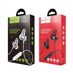 Беспроводные bluetooth наушники HOCO ES14 stereo гарнитура вакуумные black /  silver