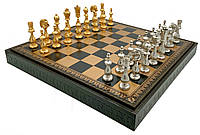 """Подарочный набор Italfama """"Arabescato"""" (шахматы, шашки, нарды)"""