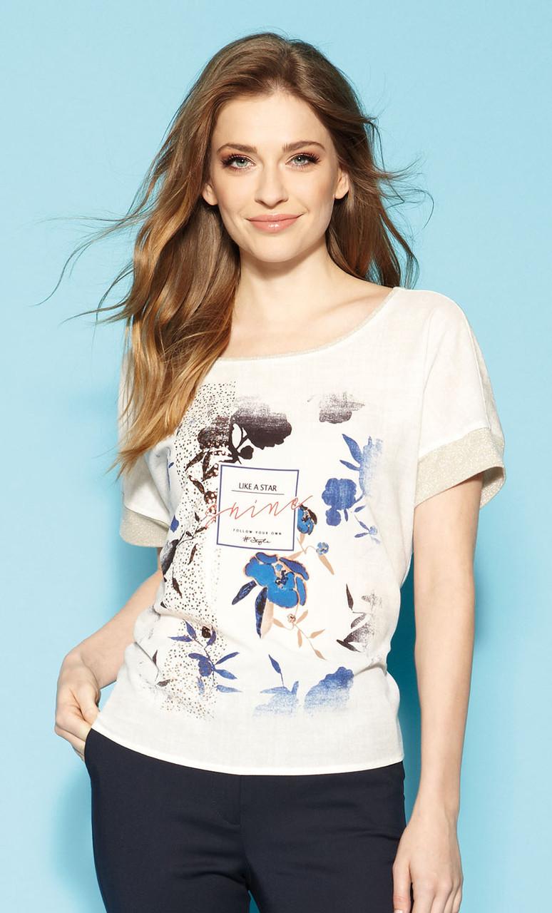 Женская летняя блуза Hirabel Zaps, коллекция весна-лето 2021