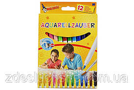 Фломастери Malinos акварельні Aquarellzauber, 12 шт SKL17-149646