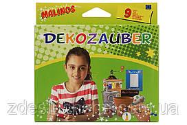 Фломастери Malinos залишивши свій яскравий для декорування Dekozauber, 9 шт SKL17-149647