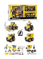 Игрушечный набор разборной строительной техники BHX 699-77 A