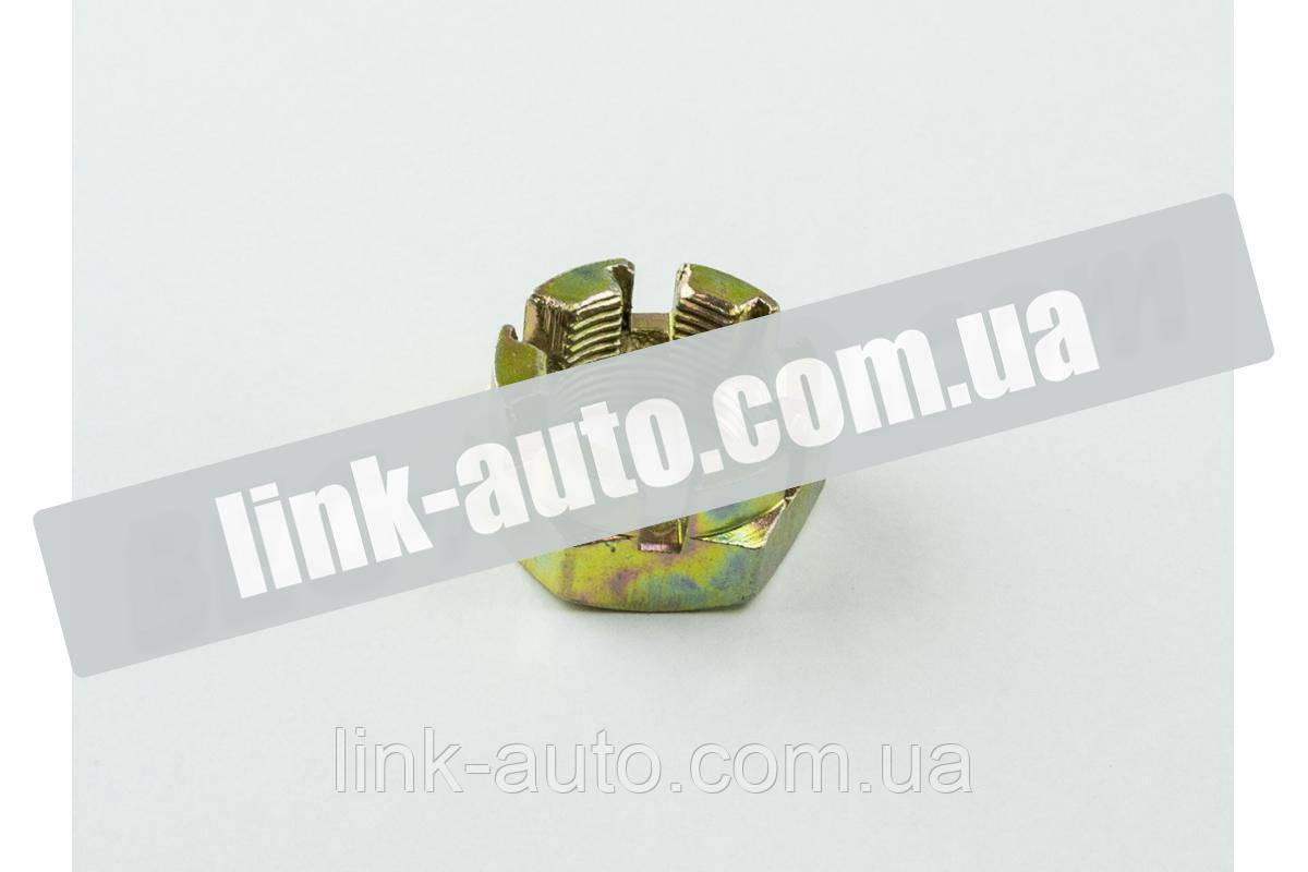 Гайка ступицы ГАЗ-53,2410,3302 корончастая (кулака повор.) Авто Престиж