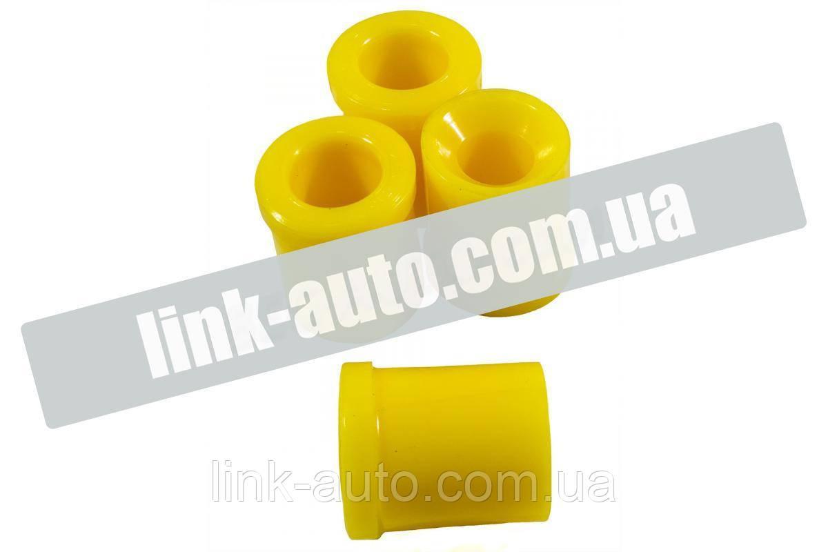 Втулка важеля В-2410,3102,3110 нижня поліуретан жовтий. (4шт)