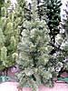 Искусственная елка (ель) 1,3 метра, ПВХ-Италия, пушистый ствол на подставке, фото 2