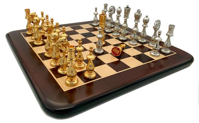 Коллекция Arabescato. Шахматы деревянные классические Italfama.