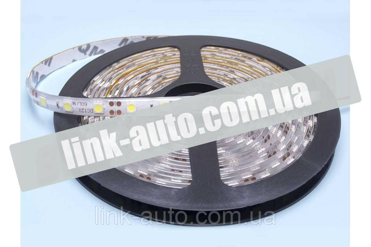 Гнучка світлодіодна стрічка 5м 24V 300L (5050) біла