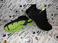 Весенние мужские кроссовки в стиле ADIDAS MARATHON Black черные