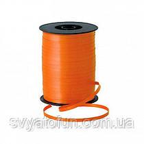 Стрічка для куль пастель помаранчева 300м Україна