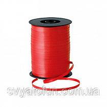 Стрічка для куль пастель червона 300м Україна