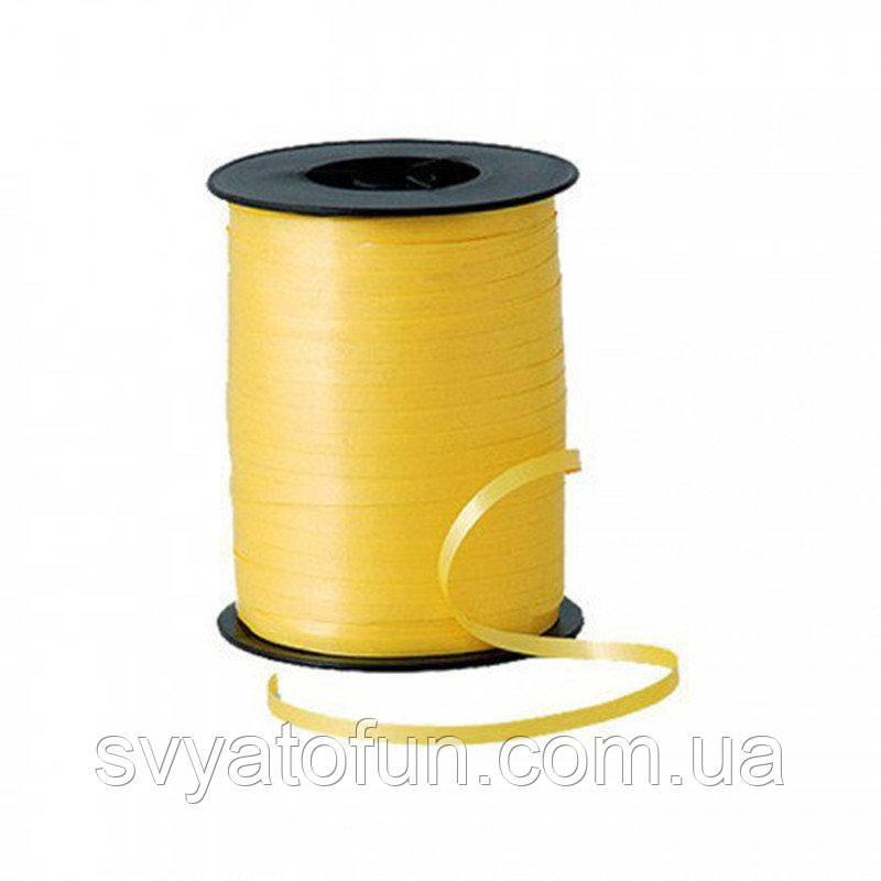 Стрічка для куль пастель жовта 300м Україна