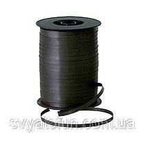 Лента для шаров пастель черная 300м Украина