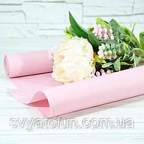 Папір флористична 004 рожева