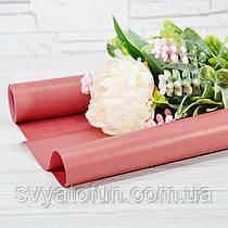 Папір флористична 009 червоний