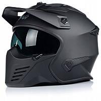 МОТОШОЛОМ Шлем NAXA інтегральний S27/B/XL трансформер Scorpion Predator