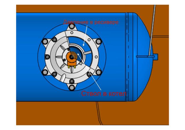 Система очистки котла ДКВР-10-1,3