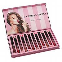 Блеск для губ Victoria's Secret Matte Lipgloss 12 в 1 Уценка, фото 1