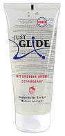 Лубрикант клубничный Just Glide Strawberry, 200 мл