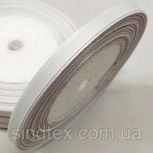 Лента репсовая 0,5 см. (5-7мм) белая (СИНДТЕКС-0793)