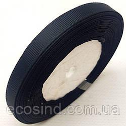 Лента репсовая 1 см. (10мм) черная (СИНДТЕКС-0796)