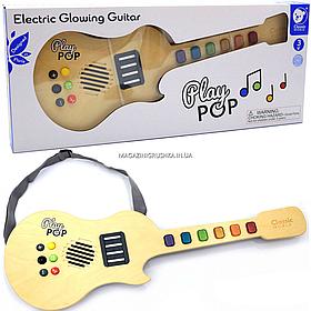 Детская электронная гитара Classic World с подсветкой (40552)