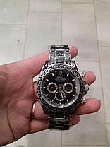 Часы мужские наручные механические с автоподзаводом Rolex Daytona Daytona Skull Engraved реплика ААА класса, фото 3
