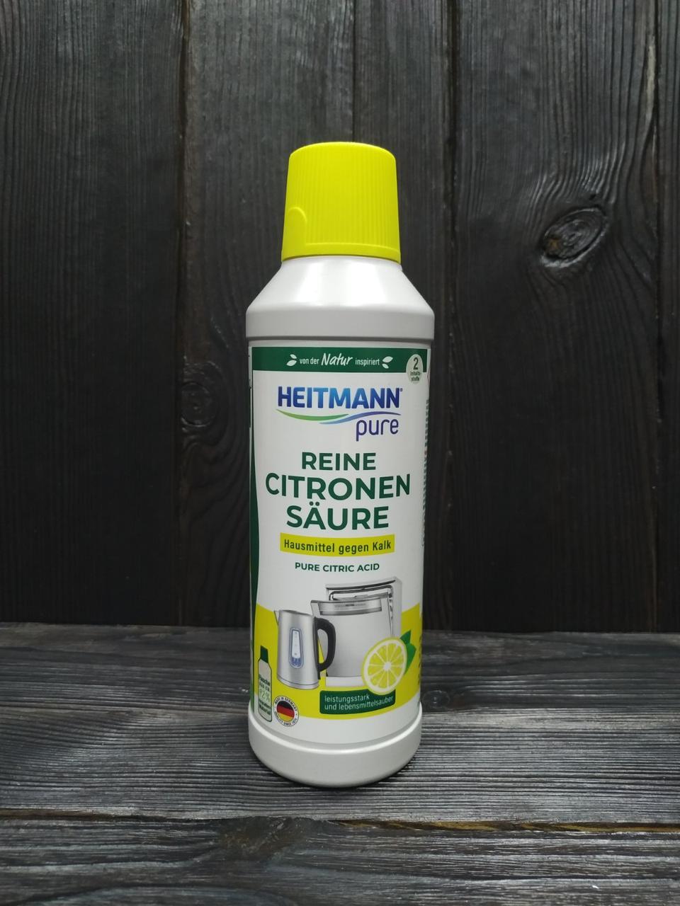 Heitmann Засіб для видалення вапняного нальоту з лимонною кислотою 500 мл