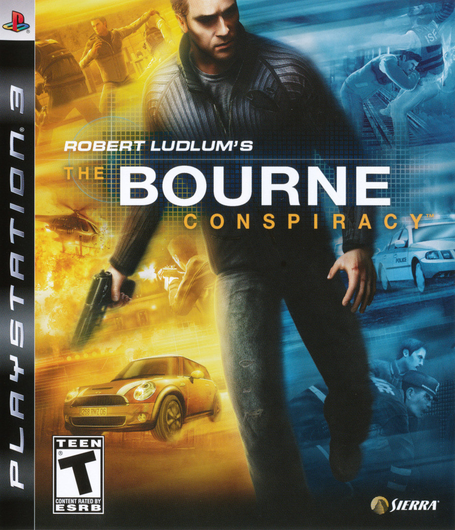 Игра для игровой консоли PlayStation 3, Robert Ludlum's The Bourne Conspiracy (БУ)
