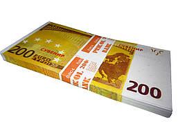 """Деньги сувенирные """"200 ЕВРО"""""""