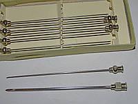 Иглы инъекционные для шприцов типа Рекорд и плевроаспираторам №1090 (7 штук)