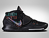 Оригинальные баскетбольные кроссовки Nike Kyrie 6 'Triple Black' (BQ4630-006)