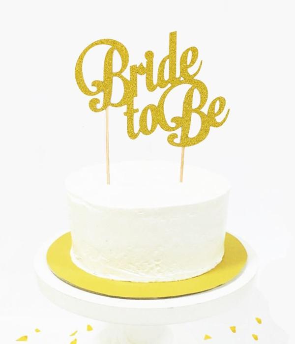 """Топпер для торта на девичник """"Bride to be"""""""