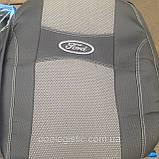 Авточехлы Ford Connect 1+1 2002-2013 Форд Коннект (standart) Nika, фото 3