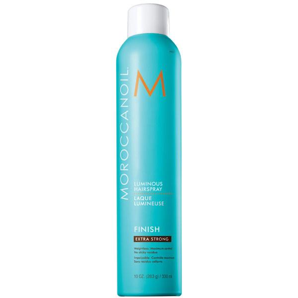 Moroccanoil Luminous Hairspray Finish Extra Strong Сияющий лак для волос экстра сильной фиксации 330 мл.