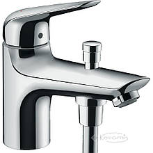 Смеситель для ванны и душа Hansgrohe Novus на борт ванны, хром (71321000)