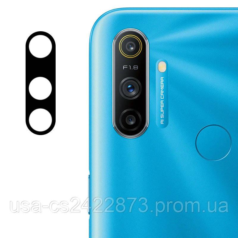 Гибкое защитное стекло 0.18mm на камеру  для Realme C3