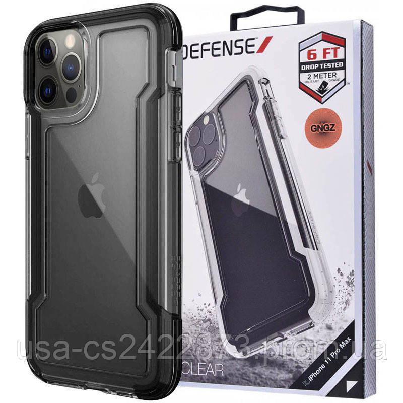 "Чехол Defense Clear Series (TPU+PC) для Apple iPhone 12 Pro Max (6.7"")"