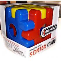 Сортер куб (арт. 5272) 13*13*13см картонна упак. MAXIMUS