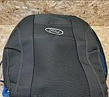 Авточехлы Ника на FORD FIESTA Mk7 от 2008 з/сп 1/3 2/3;4подгол;airbag Nika, фото 4