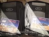 Авточехлы Ника на FORD FIESTA Mk7 от 2008 з/сп 1/3 2/3;4подгол;airbag Nika, фото 2