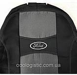 Авточехлы Ника на FORD FIESTA Mk7 от 2008 з/сп 1/3 2/3;4подгол;airbag Nika, фото 6
