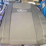 Авточехлы Ника на FORD FIESTA Mk7 от 2008 з/сп 1/3 2/3;4подгол;airbag Nika, фото 7