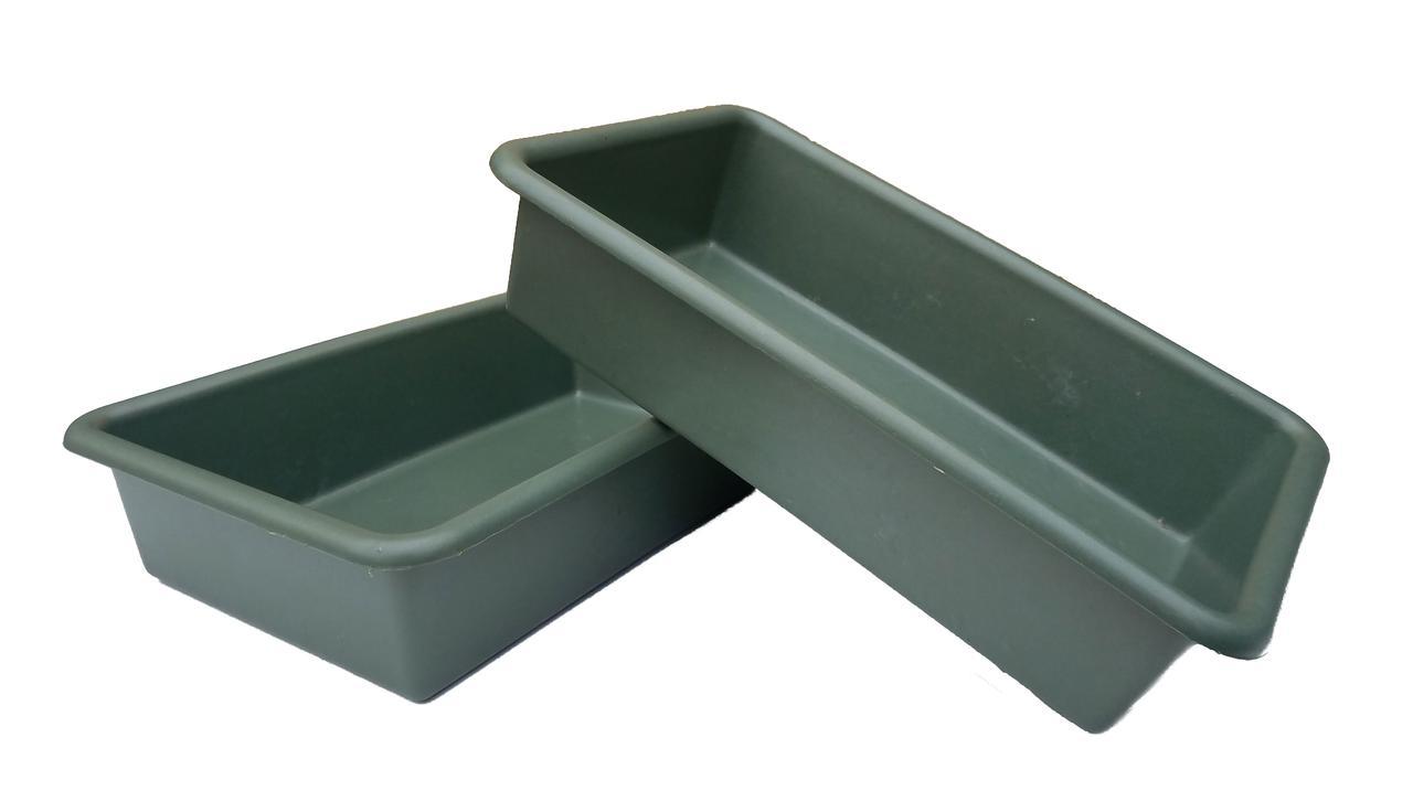 """Поддон для рассады большой (40×25×9 см, 5.5 литра) пластиковый. Лоток для рассады """"Юнипласт"""" + Видео"""
