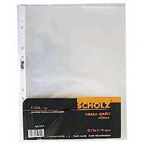 Файл SCHOLZ А4 5010 глянец (100шт) 40 мкм (1/20)