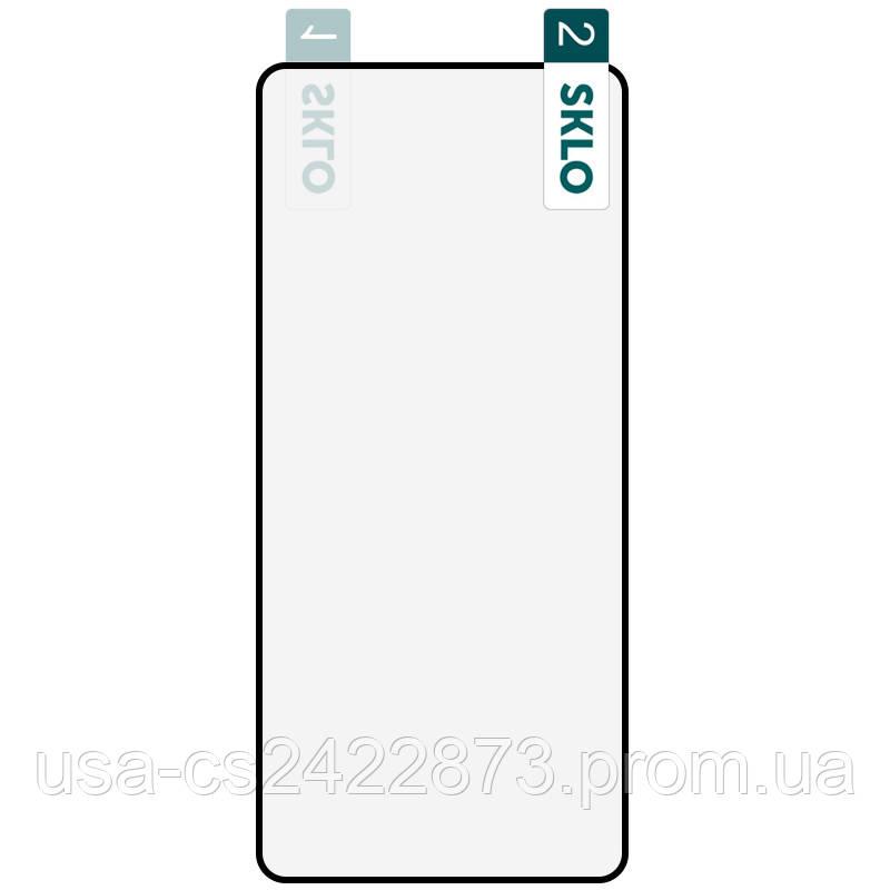 Гибкое защитное стекло SKLO Nano  для Samsung Galaxy A71 / Note 10 Lite / M51