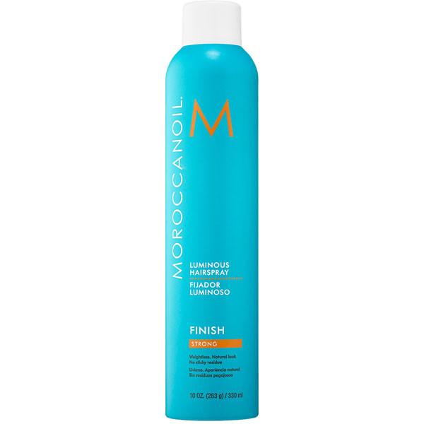 Moroccanoil Luminous Finish Strong Hairspray. Лак для сияния волос сильной фиксации 330 мл.