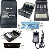 LiitoKala Lii-500 Оригинал Умное зарядное устройство + функция Power Bank + Блок питания + Авто адаптер, фото 3