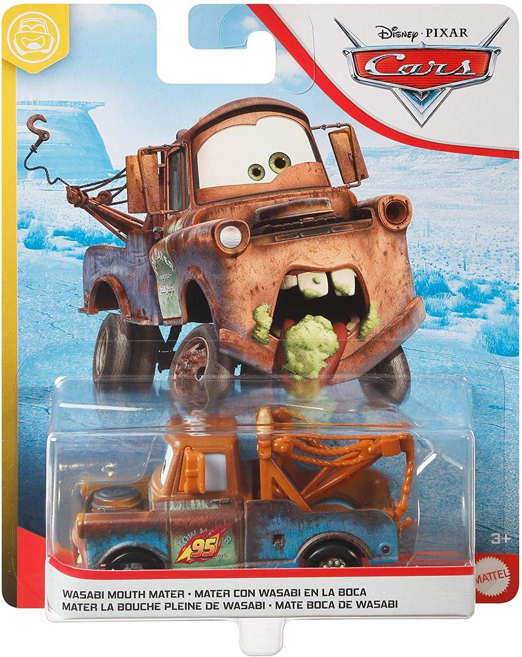 Тачки 2: Mэтр съел васаби (Wasabi Mouth Mater) Disney Pixar Cars от Mattel