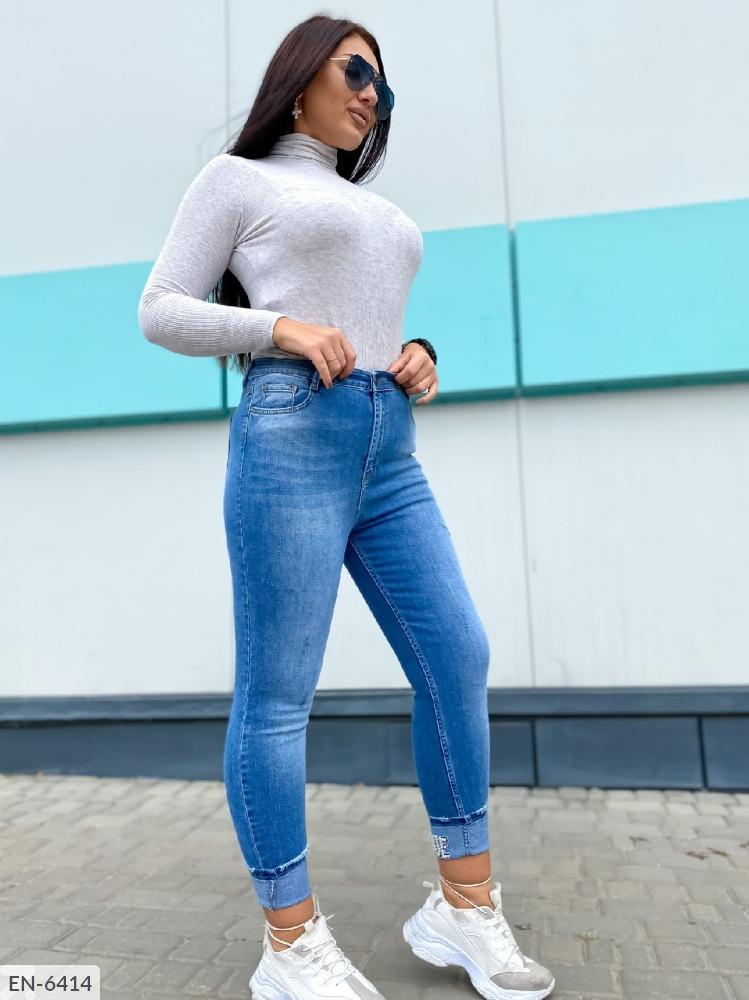 """Женские стильные джинсы в больших размерах """"VOGUE"""" (DG-ат 3122)"""